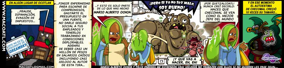 MARIO ALBERTO OCHOA Portada